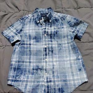 Ralph Lauren plaid shirt boy